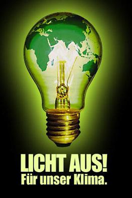Licht aus! Logo