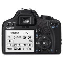 Canon EOS 450D Rückansicht