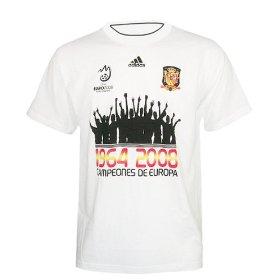 Sieger T-Shirt Europameister Spanien